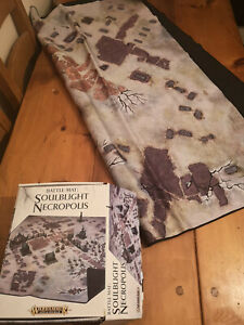 Warhammer-Fantasy-Age-of-Sigmar-Soublight-Necropolis-Battle-Mat-Nearly-New