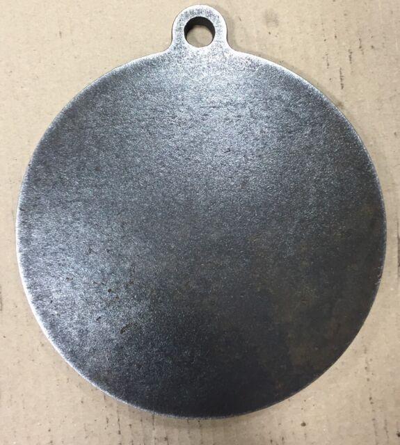 "Ar500 Steel Target 8"" X 1/2"" Gong Hanger NRA Action Pistol Plate"