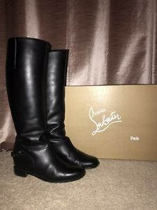 87ba3f03c1a Details about Christian Louboutin Cate Boots Size 39