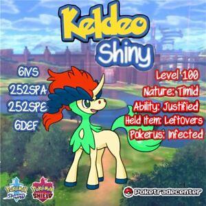 Pokemon-Sword-And-Shield-Shiny-Keldeo-6Ivs-Max-Evs