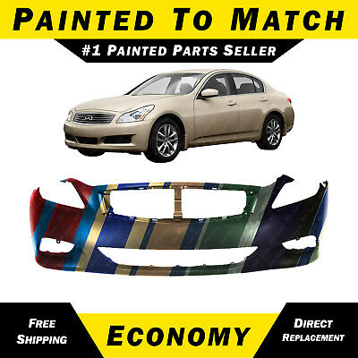 Front Bumper Cover for 2008-2015 Infiniti G37 Q60 2-Door Coupe 08-15 IN1000237 Primered MBI AUTO