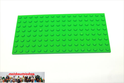 Lego® 92438 Platte Plate 8X16 Hellgrün Bright Green NEU