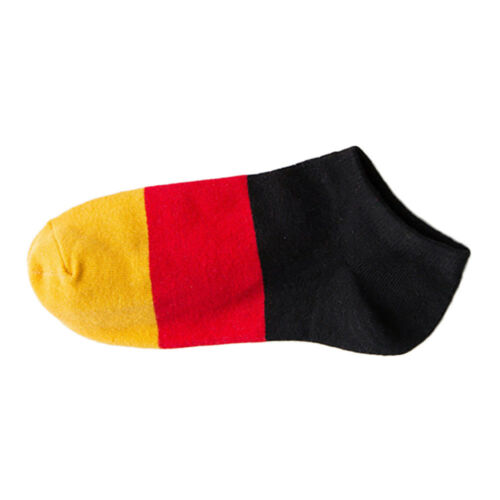 Men Soft Low Cut Ankle Socks Flags Casual Dress Sports No Show Colorful Sock Sox