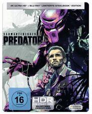 Predator - 4K Ultra HD + Blu-ray / Limitierte Steelbook Edition # 4K-UHD-NEU