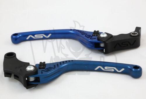 Yamaha FJR1300 2004-19 ASV F3 Lever Set Clutch /& Brake Blue Long