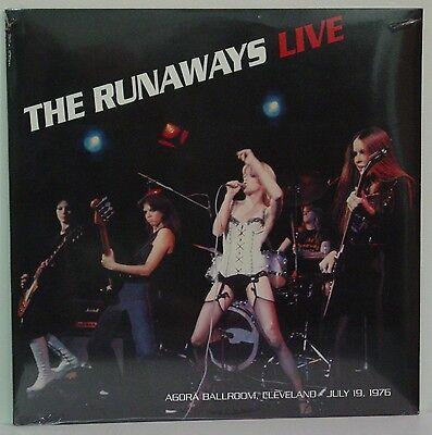 RUNAWAYS  Live Agora Ballroom Cleveland OH July 19 1976  NEW SEALED LP
