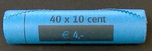 Rol 10 cent 2004 Koninklijke Nederlandse Munt Oplage 400.000 Mintage 400,000