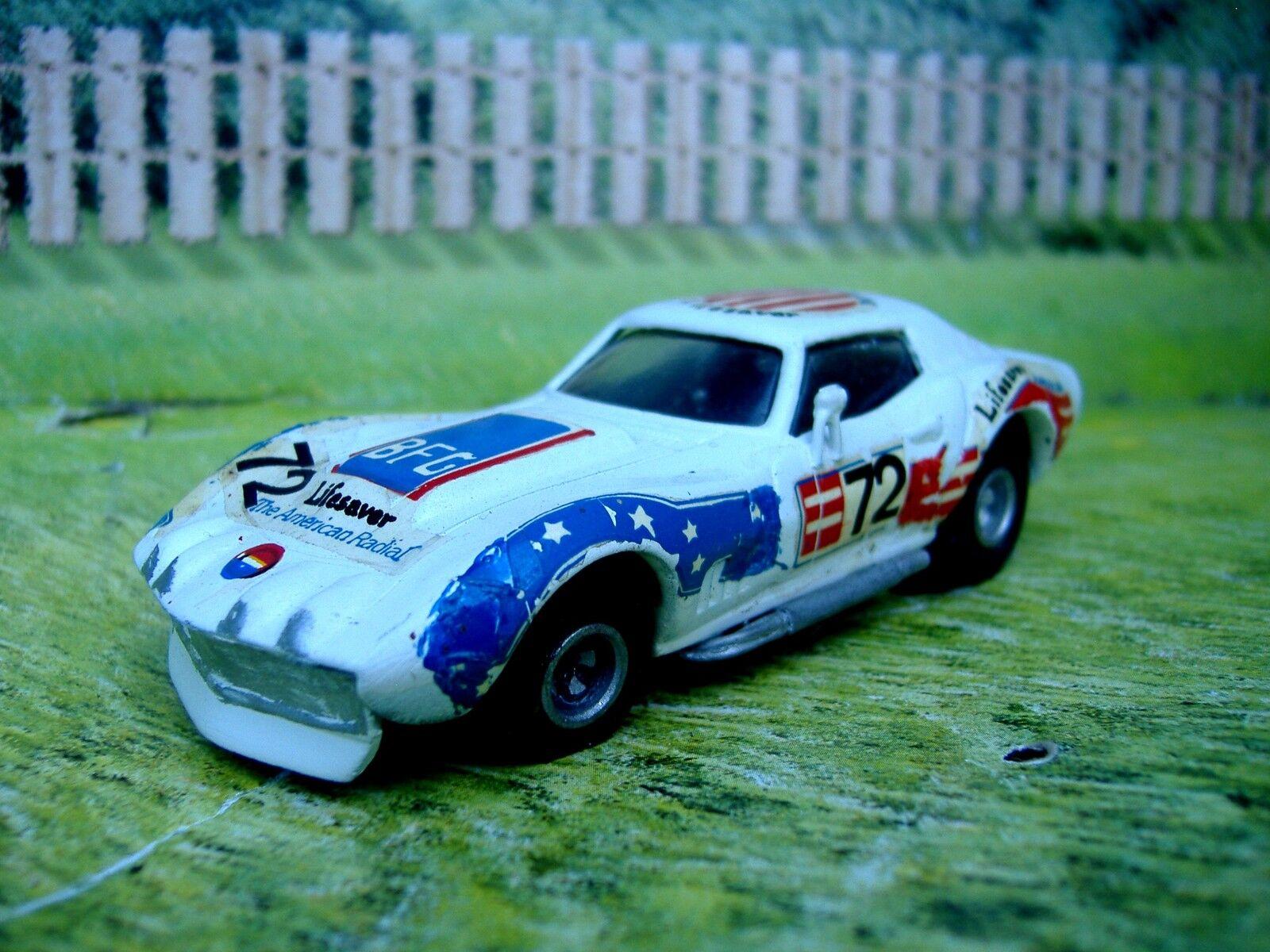 1 43 C scale 001 Chevrolet corvette corvette corvette LM 1972  Handmade White Metal Model Car Kit 9a1d98