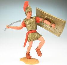 TIMPO TOYS - Römer Pilumwerfer - rot - mit Pilum und Schild - ROMAN