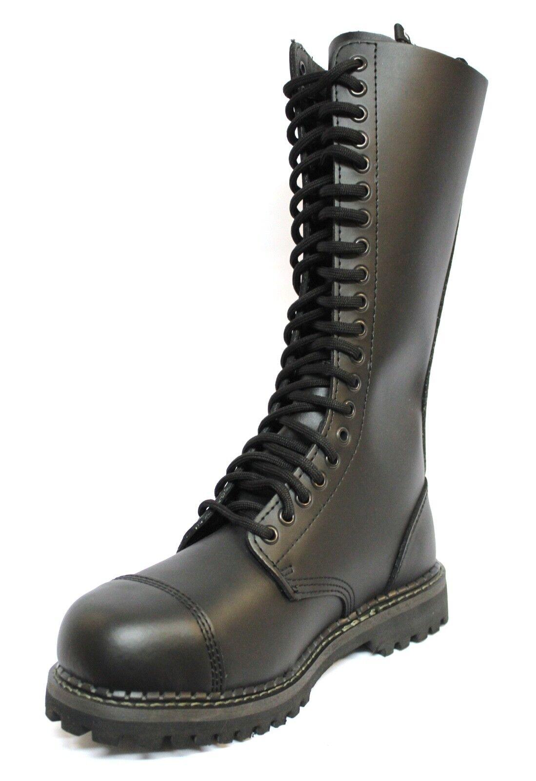 servizio premuroso Grinders KingCS Uomo Sicurezza Punta in Acciaio Nero stili Militare Militare Militare Stivali Allacciati  best-seller