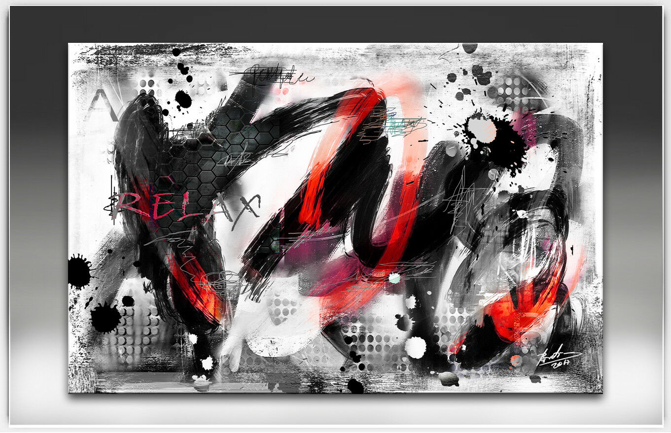 Abstrait peintures murales images sur toile art deco Modern Modern Modern XXL 2364 a | à L'aise  a73ba2