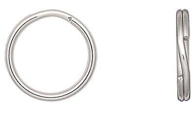 Gold Split Rings Beadalon brand 8mm 144 Pack