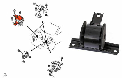 sainchargny.com Top Quality Engine Mount right front Lancer ...
