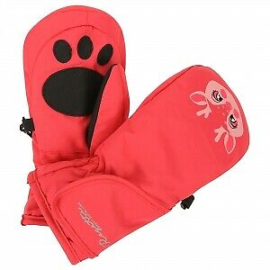 RKG038 Regatta Kids Padded Spatter  Mitts Warm Insulated Mittens Girls Boys