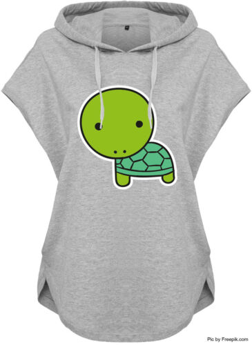 KAWAII hoodie kapuzenhoodie Grigio Ladies Donna con Cappuccio Shirt diversi motivi