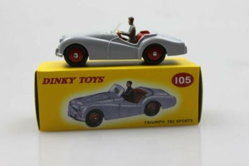 Atlas 105 dinky toys 1:43 Triumph Tr2 Sports  Alloy car model