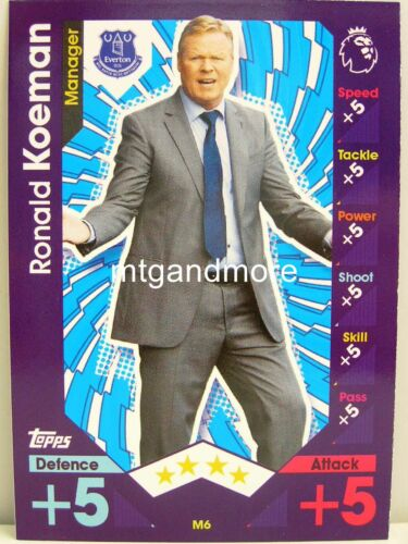 Match Attax 2016//17 Premier League-m6 RONALD KOEMAN-manager