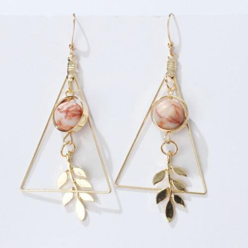 Fashion Grand Triangle Géométrique Earring Ear Stud Boucles d/'oreilles Femmes Bijoux G