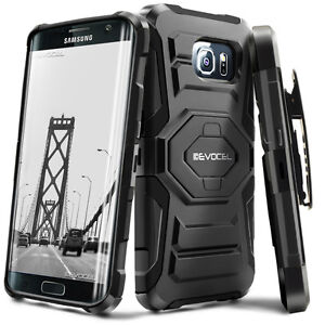 Evocel-Galaxy-S7-Edge-Rugged-Holster-Case-with-Kickstand-amp-Belt-Clip-SM-G935