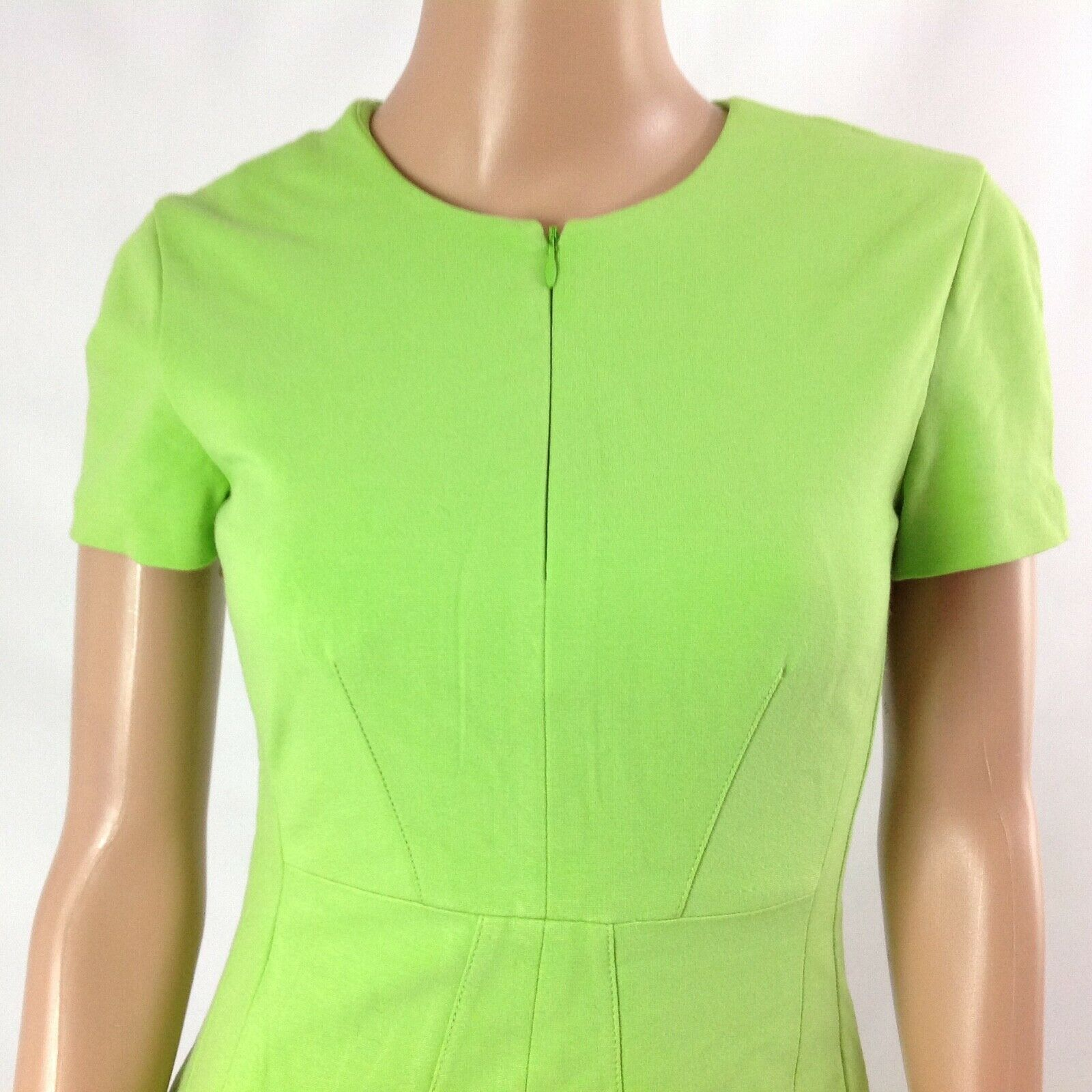 Diana von Furstenberg Agatha Knit Suiting Lime Gr… - image 5