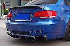 FOR BMW E92 E93 M3 CARBON FIBER REAR DIFFUSER 2008+ 2012 Hi-Q