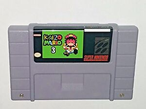 Details about Kaizo Mario 3 - game For SNES Super Nintendo - Platformer -  Very hard!