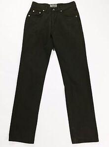 Wampum-jeans-uomo-verde-vintage-w32-tg-46-gamba-dritta-slim-usati-usato-T1102