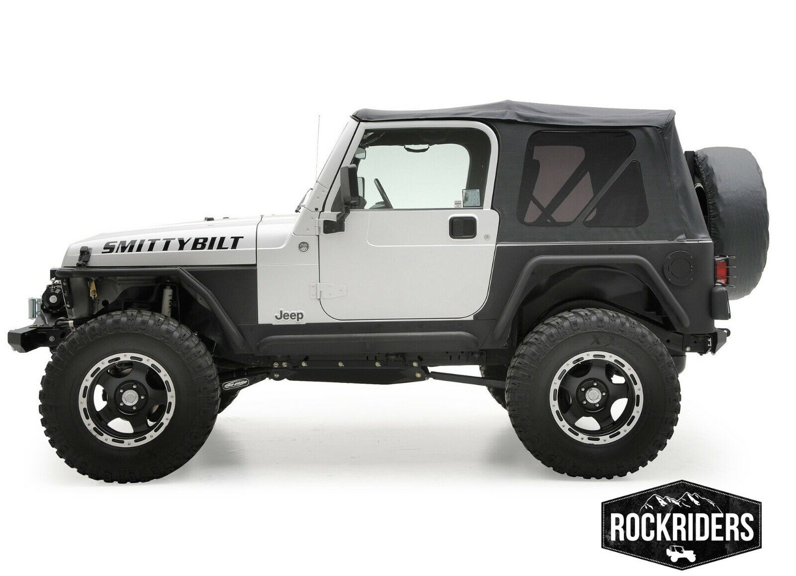 Jeep Soft Tops >> 97 06 Jeep Wrangler Tj Soft Top With Rear Tinted Windows 3 Year Warranty 9971235