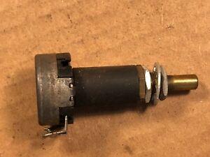 DéSintéRessé Vintage Clarostat 200k Ohm Ampli Guitare Potentiomètre 1954 Transition Linéaire Pot Testé-afficher Le Titre D'origine
