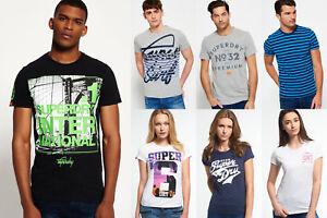 Neues-Superdry-fuer-Maenner-und-Frauen-T-shirts-Versch-Modelle-und-Farben-1311