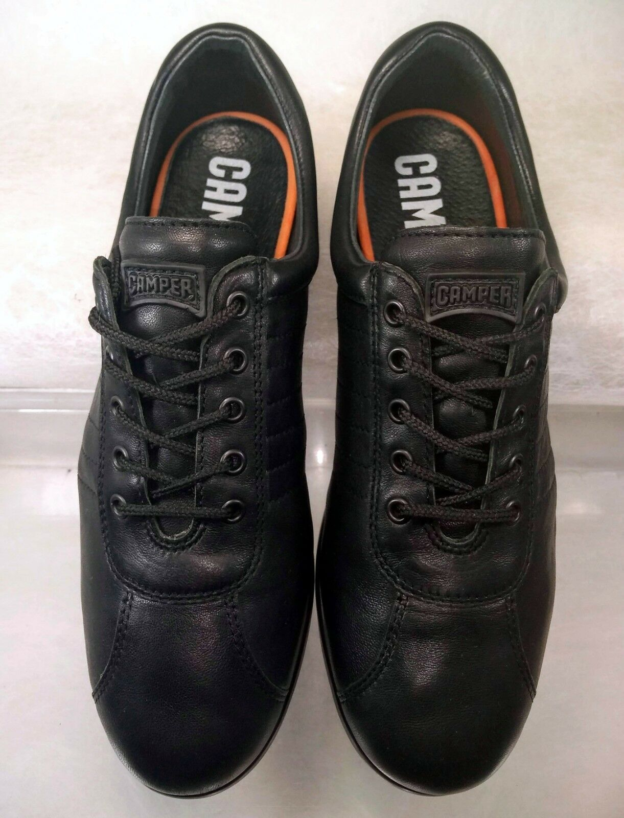 Camper Pelotas Ariel Casual Lace Up Up Up Black Sneakers Women US 10   40 2ce45f