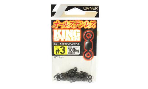 Owner KS-11 Swivel King Stain Crane Swivel Size 3 3188