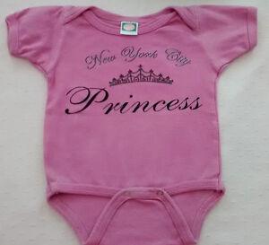 2019 DernièRe Conception Baby Girl's Pink Body/gilet New York City Princesse Design 6-9 Mois Jasper-afficher Le Titre D'origine