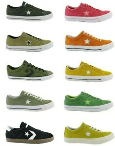 Converse-All-Star-Chuck-One-Star-Player-point-d-039-arret-Baskets-Chaussures-Taille-au-choix