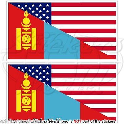Decal sticker flag exterior vinyl car motorrad mongolia mongolian