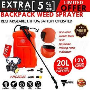 NEW-20L-Electric-Sprayer-Rechargeable-Weed-Backpack-Farm-Garden-Pump-Spray-Farm