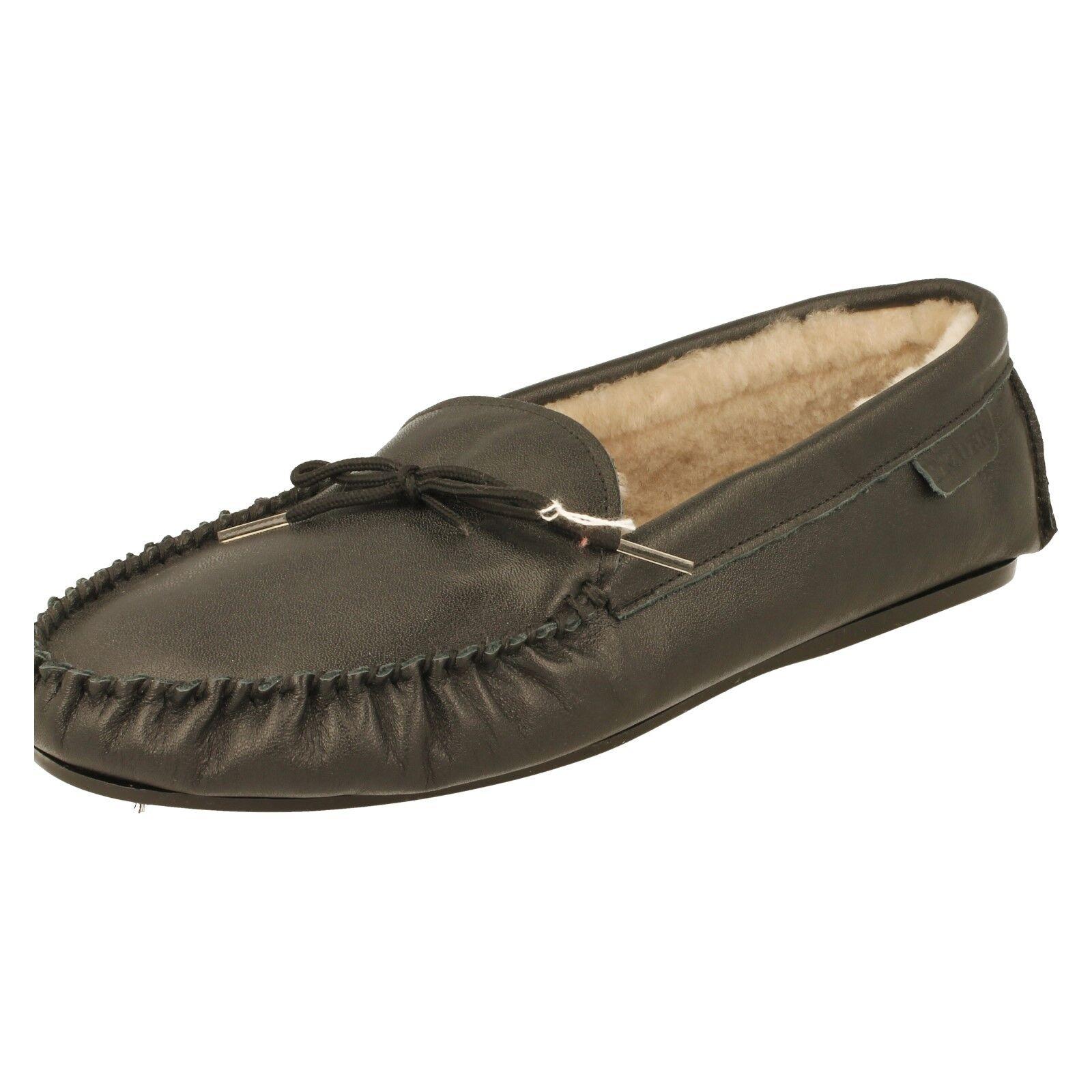 Drapers cálido forrado Zapatillas De Hombre-Josh