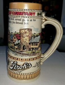 Beer-Stein-Vintage-Limited-Edition-Strohs-Brewery-Co-Big-Mug-Heritage-Series-II