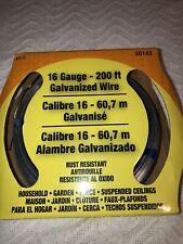 Hillman Galvanized Utility Wire Steel 200 50143