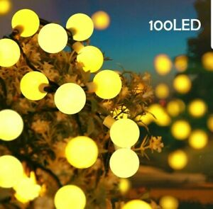 100 Led Globe 39ft String Lights