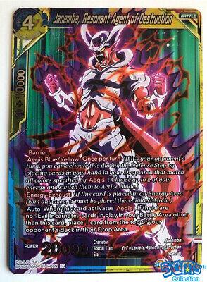Foil Resonant Agent Destruction Dragon Ball Super Card Game EX05-04 Boujack
