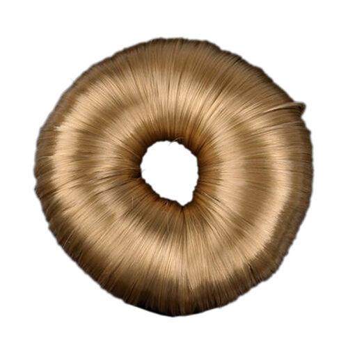 Blond Frisur Haar Donut Ring Haarknoten Former Modegestalter