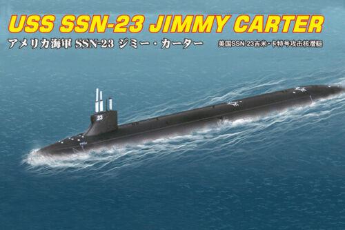 HobbyBoss 87004 US Submarine Jimmy Carter 1//700 Scale Plastic Model Kit