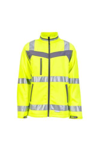 Planam plaline warnschutz Softshell chaqueta chaqueta de trabajo chaqueta profesional chaqueta meteorológico 8x