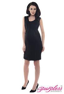 b3d73550034c63 Image is loading Purpless-Maternity-Stunning-Sleeveless-V-Neck-Pregnancy- Dress-