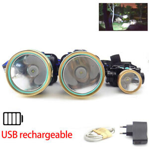 USB-rechargeable-Headlamp-Flashlight-Head-Lamp-Torches-Led-T6-Hunting-Camping