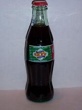8 OZ COCA COLA COMMEMORATIVE BOTTLE - 2000 SUPER BOWL JANUARY 28 2001 TAMPA FL