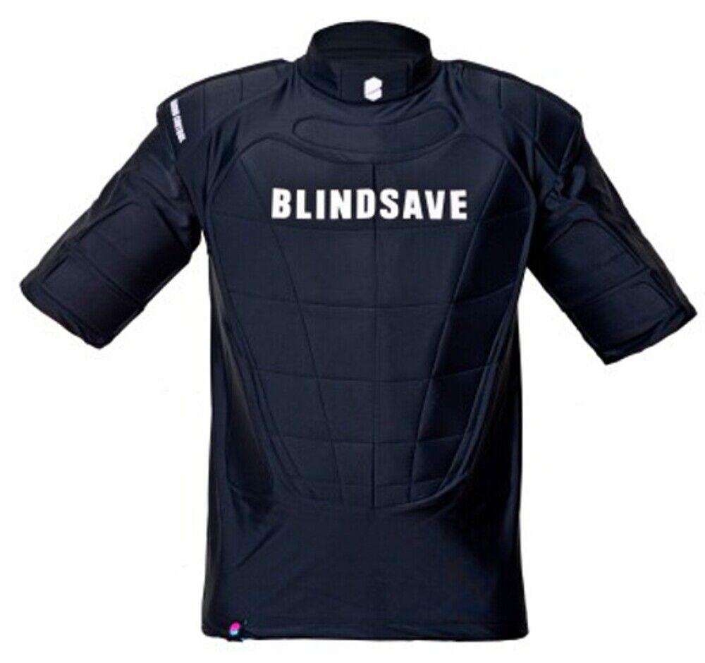 Blindsave Floorball Short Sleeve Predection Vest with  RC  offering 100%