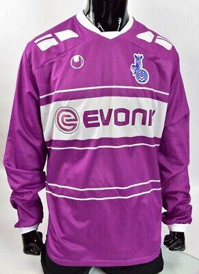 Uhlsport MSV Duisburg 3rd Jersey 16//17 noir zèbre Fan Shirt MSV Maillot S-L