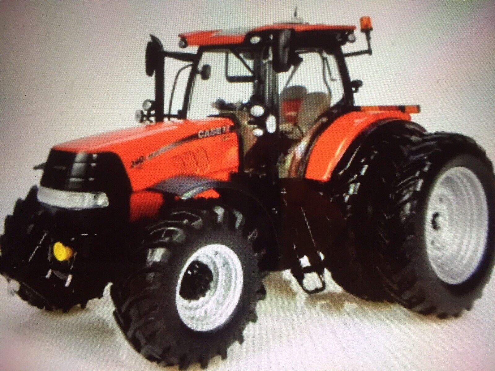 Universal Hobbies  Case IH Puma CVX240 Dual Wheels US Version  Uh4961 1.32 Scale